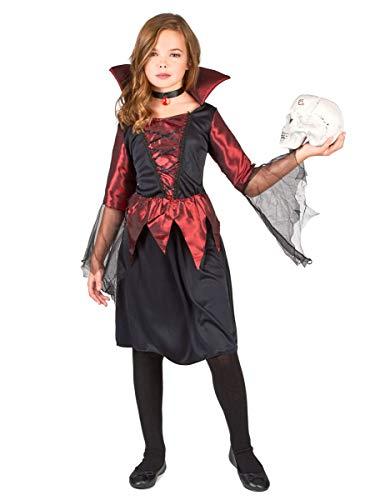 Generique Déguisement Vampire Fille Halloween 10 - 12 Ans (L)