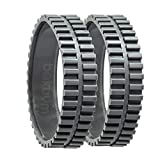 EPIEZA Pack 2 Tires for Eufy RoboVac 11S, 11S MAX,...