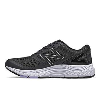 New Balance Women s 840 V4 Running Shoe Black/White 9