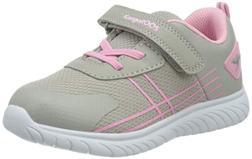 KangaROOS Jungen Mädchen KI-Twee EV Sneaker, Vapor Grey/Frost Pink 2063, 29 EU
