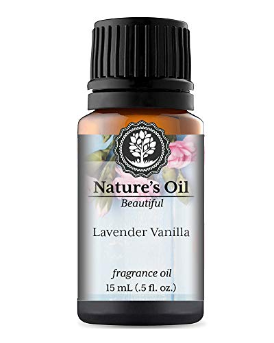 Lavender Vanilla Fragrance Oil (15ml) For Perfume, Diffusers, Soap Making, Candles, Lotion, Home Scents, Linen Spray, Bath Bombs, Slime