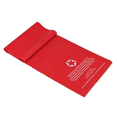 Gregster Medium Fitnessband, für verschiedene Fitness Übungen, rot