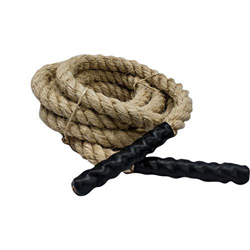Corda Naval Sisal para Exercícios de Escalada 6m - Rae Fitness