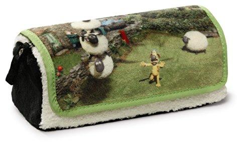 Nickelodeon NICI 37211Shaun The Sheep Roll Up Pencil Case–19x 7x 7cm