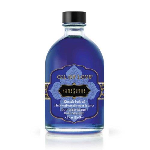 KamaSutra Oil of Love Sugared Berry - abküssbares Liebesöl, Gzuckerte Beere, 1er Pack (1 x 100 ml)