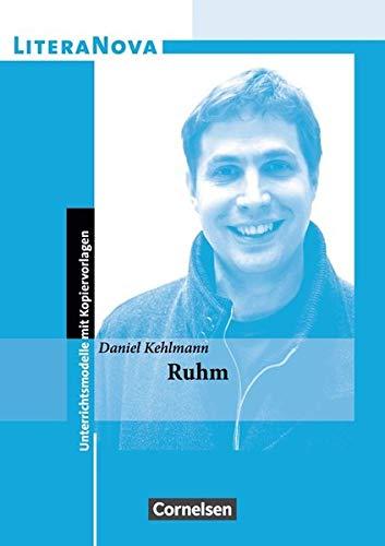 LiteraNova: Ruhm (LiteraNova - Unterrichtsmodelle mit Kopiervorlagen)