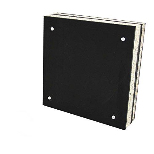 Stronghold Schaumscheibe Black Strong bis 55lbs (60x60x15 cm) Zielscheibe Bogenschießen