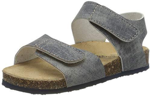 PRIMIGI Sandalo Bambino, Punta Aperta Uomo, Jeans Blu 5425311, 36 EU