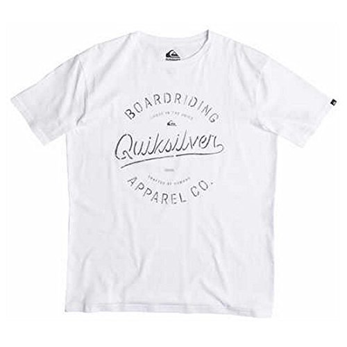 Quiksilver Tee Rhino Chase - T-Shirt - Manches Courtes - Homme - Blanc (White) - Large (Taille Fabricant: Large)
