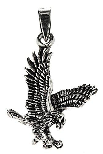 Kiss of Leather Zierlicher Adler Anhänger aus 925 Sterling Silber Nr. 275