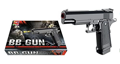 Pistola Giocattolo a Pallini, Pistola BB, Calibro 6 mm, Inclusi Dardi (W001)