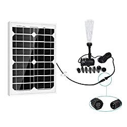 PowerEZ Solar Water Pump - Top 10 Best Solar Pond Pumps