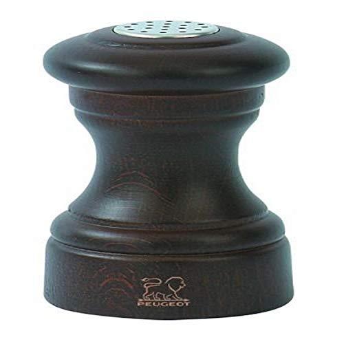 Peugeot 22587 Bistro Salzstreuer Holz, 5 x 5 x 9 cm, schokolade