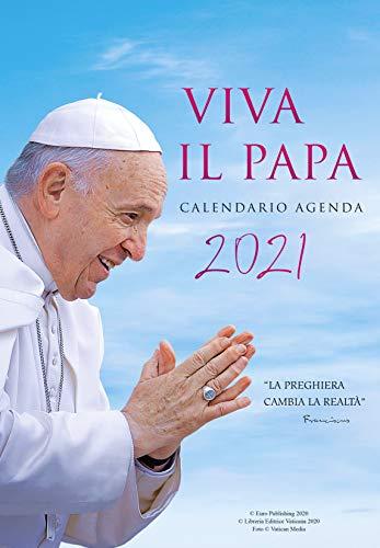 calendario Papa Francesco 2021 cm 29x42