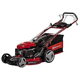Einhell 3404855 GE-PM53/2SHW-ELi Tondeuse à gazon thermique, Rouge Noir