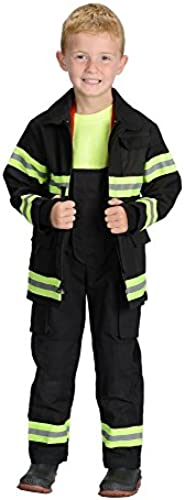 (4   6, schwarz) - Aeromax Jr. LOS ANGELES Fire Fighter Suit, schwarz, Größe 4 6. The Beste 1 Award Winning firefighter suit. The most realistic bunker gear for kids everywhere. . the real gear