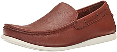 Kenneth Cole REACTION Men& 039;s Pot Luck Slip-On Loafer, Cognac, 10 M US