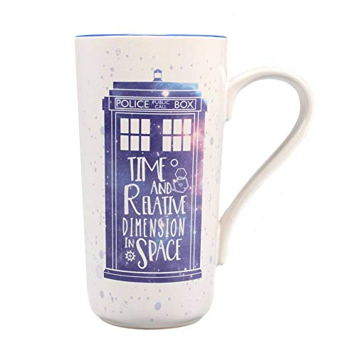 Doctor Who - Latte Tasse - Tardis - Police Box - Geschenkbox