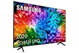 Samsung UHD 2020 70TU7105- Smart TV de 70' 4K, HDR 10+, Crystal Display, Procesador 4K, PurColor, Sonido Inteligente, Función One Remote Control y Compatible con Asistentes de V, con Alexa integrada