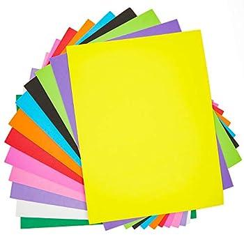 EVA Foam Sheets for Crafts  12 Colors 48 Pack