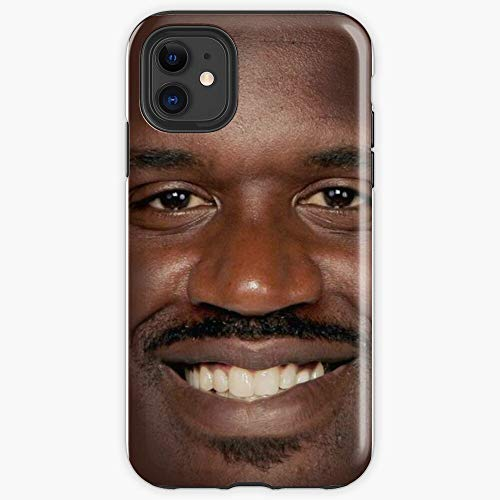 MCTEL Shaq Fu iPhone Soft Case Protect and Create A for Your Phone. Your iPhone. Best Gift Friends Yourself.