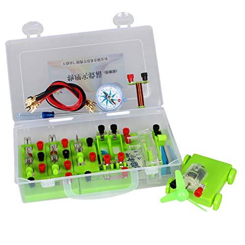 Funight Kit De Circuito Eléctrico, Equipo De Experimento Eléctrico, Equipo De Experimento...