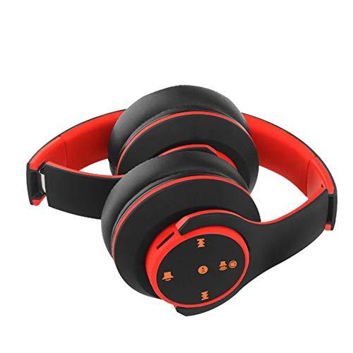 Neubula - Auriculares Bluetooth inalámbricos con micrófono estéreo y micrófono en la oreja, tecnología táctil inteligente por huella digital, graves profundos de 360 ° y antirruidos