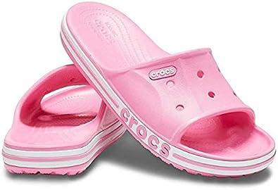 Crocs Unisexs Bayaband Slide Flip Flops Leisure and Sportwear Adult