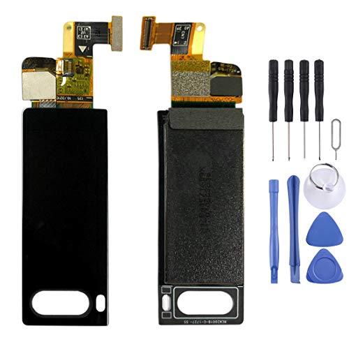 LISUONG DCD Pantalla de visualización Secundaria ACDC para Meizu Pro 7 / Pro 7 Plus (Negro) (Color : Black)