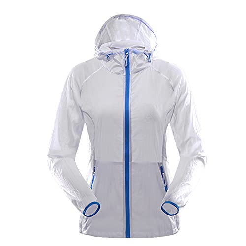Quick Dry Senderismo Chaqueta Hombres Mujeres Impermeable Sun-Protective Pareja Ropa