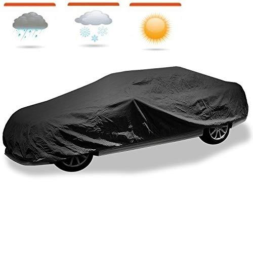 XTRM-CAR Autoschutzdecke Autoplane Autoabdeckung Ganzgarage passt für Peugeot 107 - ECO M