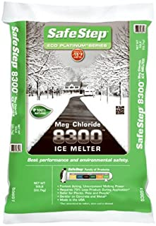 Safe Step Extreme 8300 Magnesium Chloride 100% Pure Magnesium Chloride Melts Ice Down To -15f/26c Ba