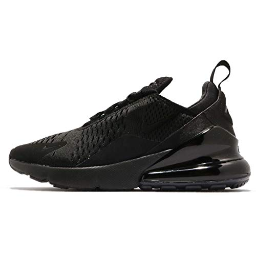 Nike Women's AIR MAX 270 Casual Shoes (6.5, Black/Black/Black)