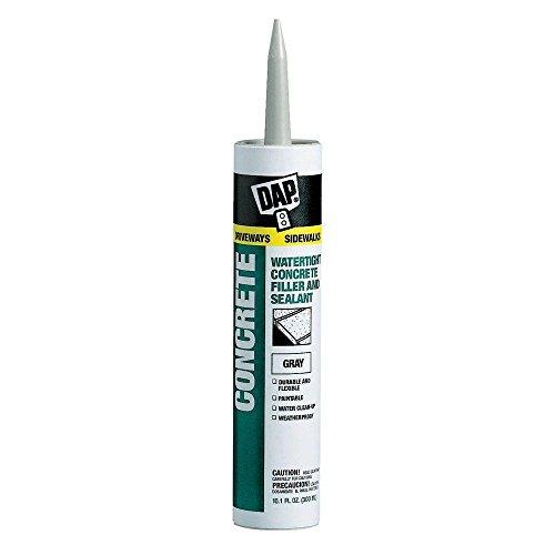 Dap 18021 Concrete and Mortar Watertight Filler and Sealant - Gray 10.1-oz Cartridge (18096)