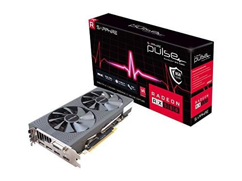 Sapphire Pulse Radeon RX 580 DirectX 12 11265-05-20T 8GB 256-Bit GDDR5 PCI Express 3.0 x16 CrossFireX Support ATX Video Card