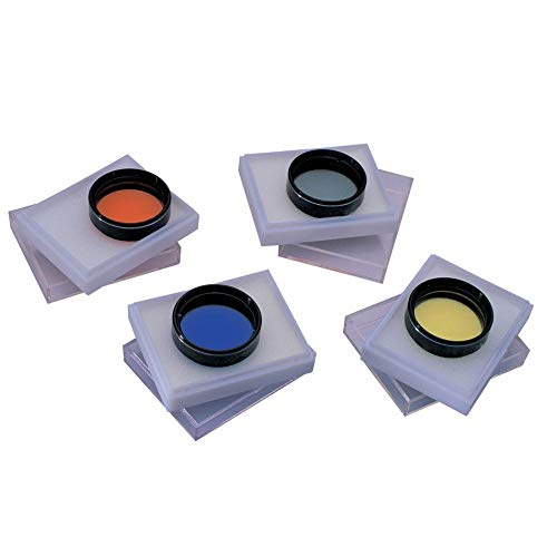 Set di 4 Filtri colorati per telescopio 31,7mm 1,25' - I più importanti!!!