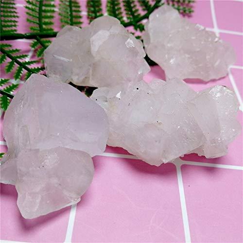 ACEACE Kristall Stein Chakra Mineralkristalle Rohe Proben Steine Edelsteine Apophylit Natürliches Geschenk 5 stücke