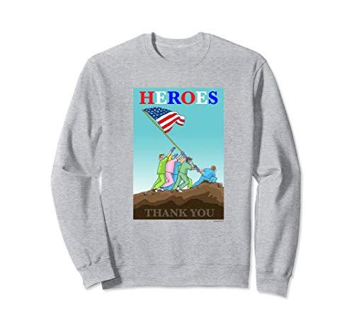 THANK YOU DOCS, NURSES, FIRST RESPONDERS Sweatshirt