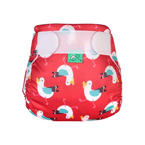 TOTSBOTS Wiederverwendbare Baby-Schwimmwindel – schöne Schwimmwindeln für Neugeborene bis Kleinkinder, Spaß in der Sonne oder Paddel im Schwimmbad, sicher (Mine)