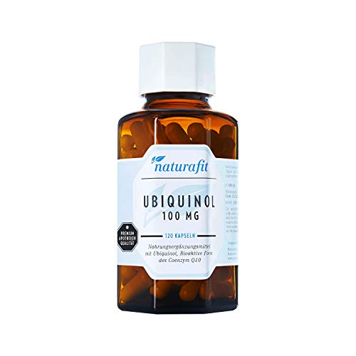 naturafit Ubiquinol 100 mg Kapseln, 120 pzas Cápsulas