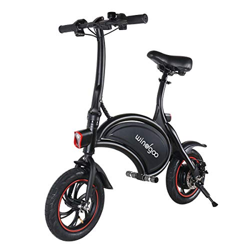 Electric Scooter, Urban Commuter Folding E-bike, Max Speed 25km/h, 20km Long-Range, 350W/36V Charging Lithium Battery, Adults and Kids Super Gifts