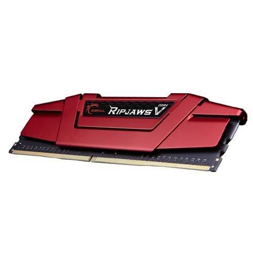 G.SKILL 8GB Ripjaws V Series DDR4 PC4-19200 2400MHz for Intel Z170 Platform Desktop Memory Model F4-2400C15S-8GVR