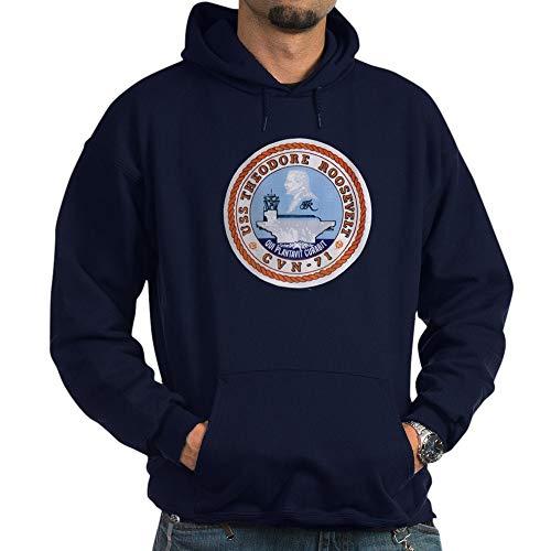 CafePress USS Theodore Roosevelt CVN 71 US Navy Ship Hoodie Pullover Hoodie, Classic & Comfortable Hooded Sweatshirt