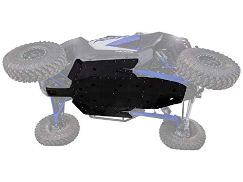 SuperATV 1/2' Thick UHMW Skid Plate for 2020+ Polaris RZR PRO XP | Fully protect your machine's undercarriage! | Made in the USA