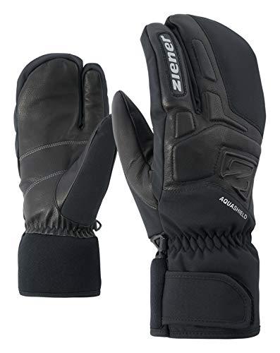 Ziener Erwachsene GLYXOM AS(R) LOBSTER glove ski alpine Handschuhe, black, 10.5