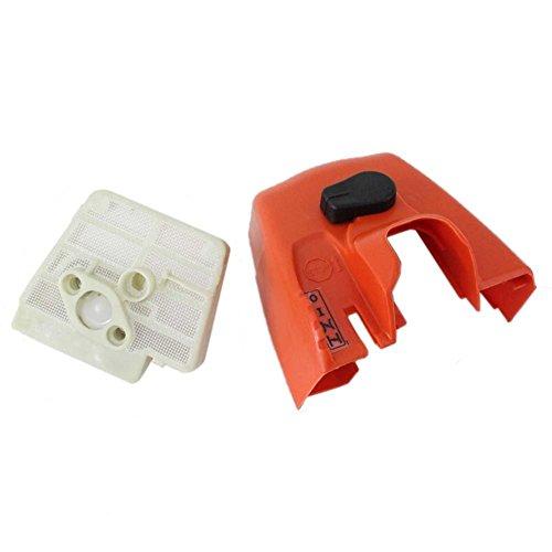 MamimamiH Luftfilter-Reiniger-Abdeckung für Stihl Ms260 024 Motorsägenteile