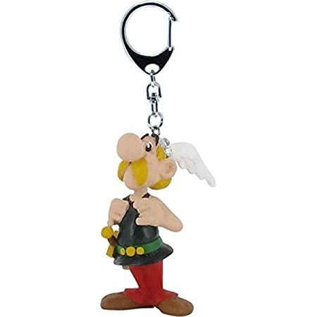 Asterix Und Obelix Schlüsselanhänger Bonnemine Rouleau À Gebäck 5 CM Figürchen