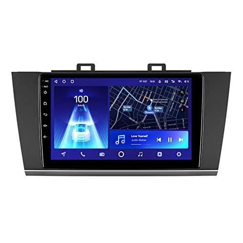 Amimilili Android 10 Radio de Coche para Subaru Outback 5 2014-2018 Legacy 6 2014-2017 Navegación GPS con Bluetooth/FM/Carplay/Mandos Volante, Mirrorlink y Cámara Trasera,8core 4g+WiFi: 4+64g
