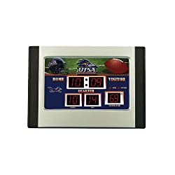 Texas San Antonio Roadrunners NCAA Scoreboard Desk Clock