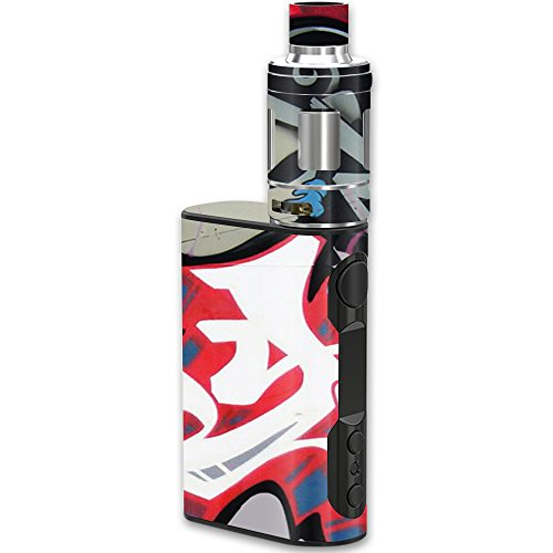 MightySkins Skin Compatible with Eleaf iStick QC Kit – Graffiti Mash Up | Protective, Durable, and Unique Vinyl Decal wrap Cover | Easy to Apply, Remove, and Change Styles | Made in The USA